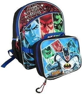 Fast Forward Justice League Backpack w/Bonus Detachable Utility Case Warner Bros Dc Comics