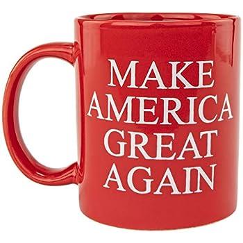 Fairly Odd Novelties' Keep America Great Donald Trump 2020 President Red Republican Conservative Coffee Tea Mug Novelty Gift standard  FON-10346  FON-10345
