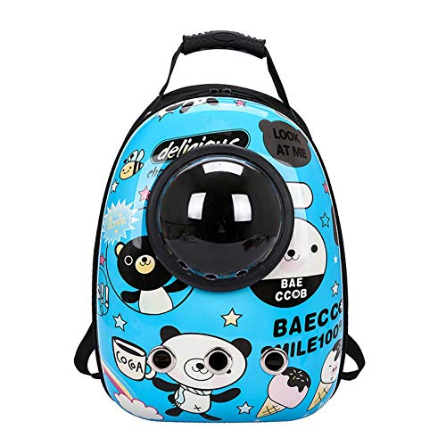 Pet Space Backpack Carrying Bag for Pets, Breathable Cat Bag, Dog Space Capsule Pet Bag