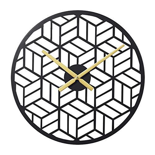 reloj de pared negro fabricante RiteSune