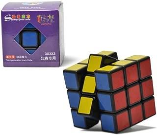 Alician New , Shengshou V3 Aurora ( Jiguang ) 3x3x3 Speed Cube Puzzle 3x3. Black