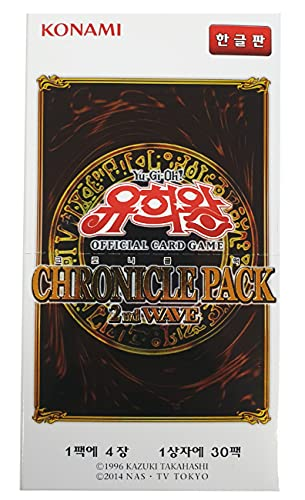 Yugioh Official Cards / Chronicle Pack 2nd Wave Booster Box Korean Ver / 30 Packs / 4 Cards in 1 Pack