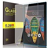 IVSO Lenovo Tab 4 X103F Protection d'Écran, Prime Protecteur d'Ecran en Verre Trempé pour Lenovo Tab 4 X103F / Lenovo Tab X103F / Lenovo Tab 10 Tablette (Tempered Glass - 1 Pack)