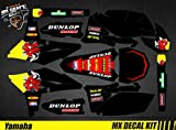 Kit de decoración para moto / MX Decal Kit Yamaha YZF – Red Bull