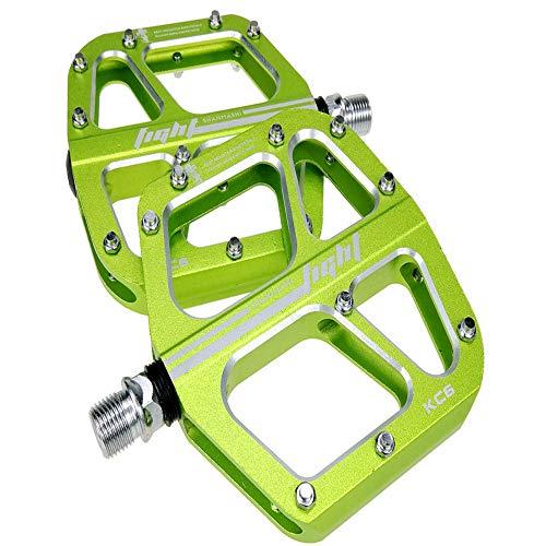 YSHUAI Ultraligero Pedales De Plataforma De Aluminio, Pedales De Bicicleta, Fácil De...