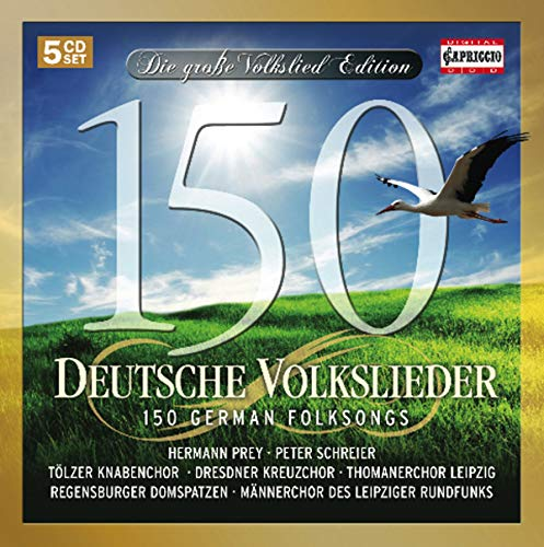 150 German Folksongs
