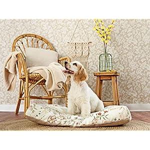 GOTS-zertifiziertes Haustierbett aus 100% Bio-Baumwolle. Umweltfreundliches Haustierbett. Eco friendly Hundebetten. Eco…