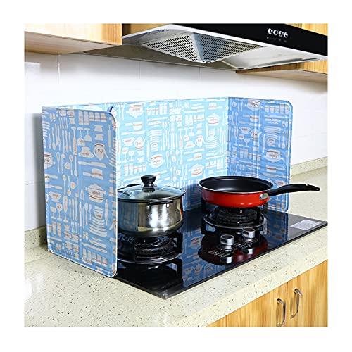 Guardia de splash de 3 lados plegable Camping de la estufa de la placa de la estufa de la placa de la placa de la grasa para freír la salpicadura de la salpicadura de la salpicadura del protector del