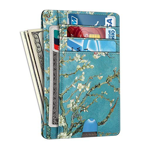 Slim Minimalist Front Pocket Wallet, Fintie RFID Blocking Credit Card...
