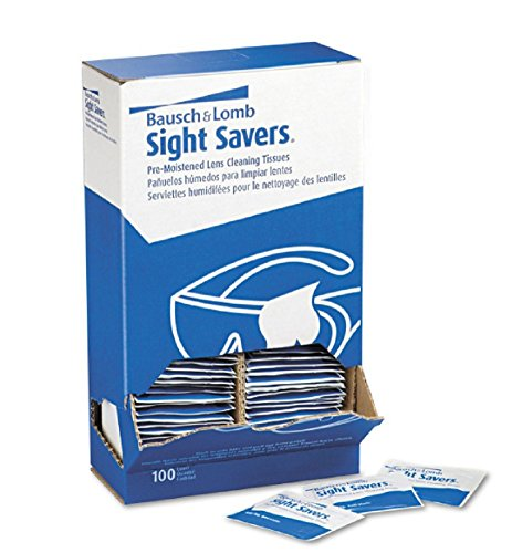 Bausch & Lomb Sight Savers Lens Cleaning Tissues 100 Count, New