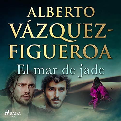 Diseño de la portada del título El mar de jade