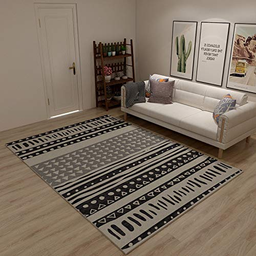 QWEASDZX Rug Living Room Bedroom Rug Classic Decorative Floor Pad Coffee Table Rug Non-Slip Rug Living Room Rug 140x200cm