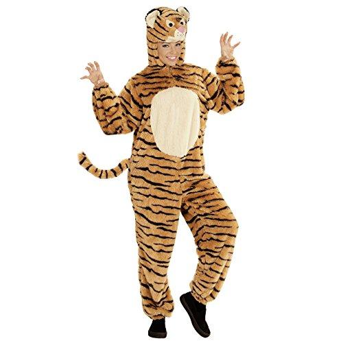 WIDMANN- Disfraz de tigre para adultos, Color naranja, large (97140)