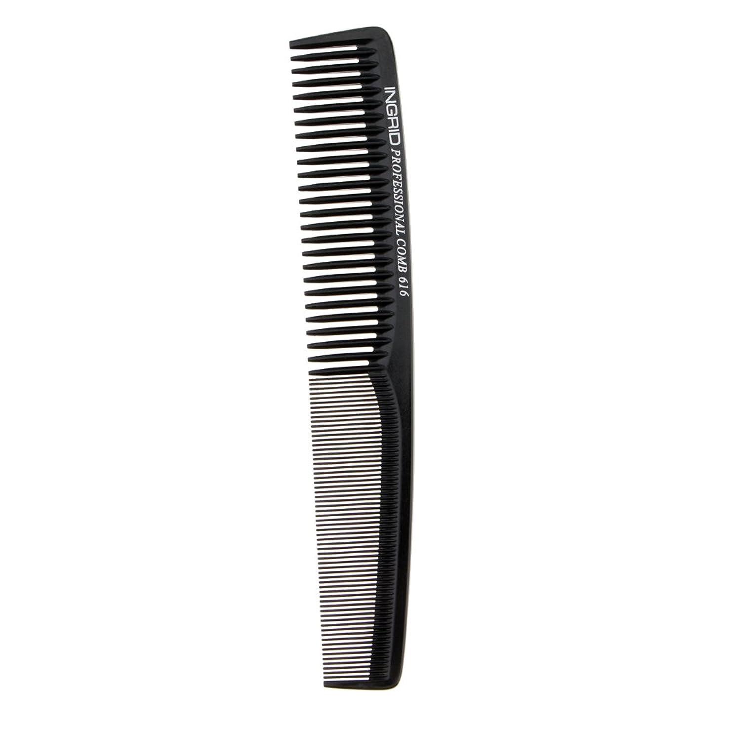 先見の明不機嫌記者Fenteer ヘアカットコーム 櫛 コーム 理髪店 ヘアケア 便利 全5色  - ブラック