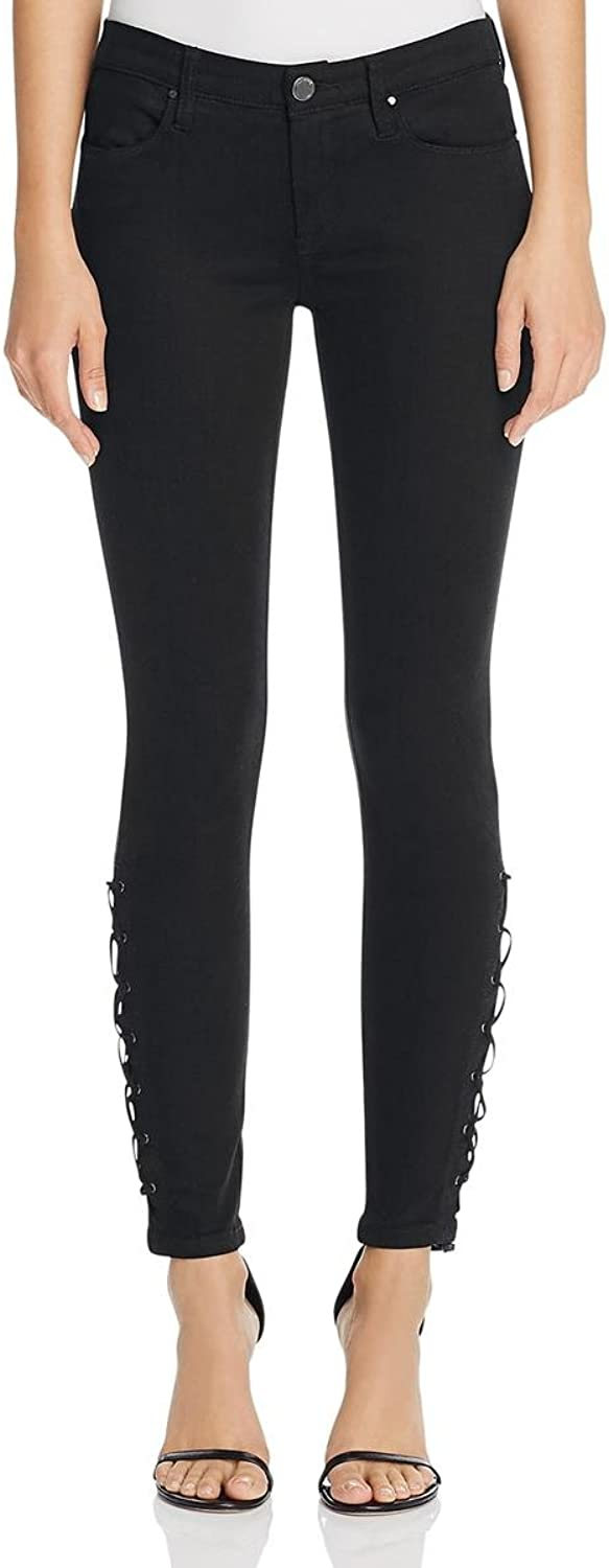 [BLANKNYC] Womens Twill LaceUp Ankle Jeans