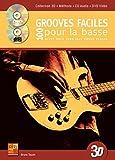 100 grooves faciles pour la basse en 3D (1 Livre + 1 CD + 1 DVD)