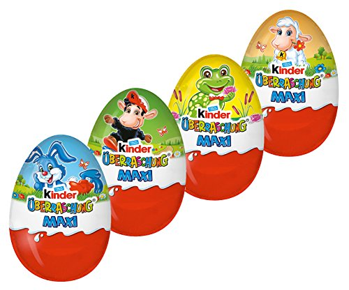 Kinder Maxi Sorpresa Uova di Pasqua - 100g [confezione da 4]