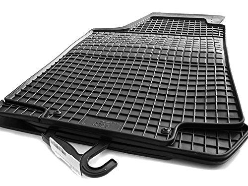 Gummimatten passend für Golf III Set 4-teilig Gummi Fußmatten schwarz