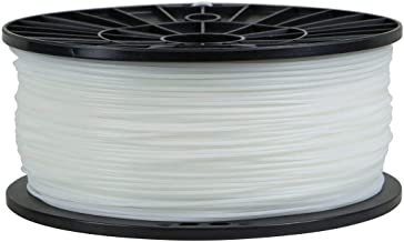 Monoprice Premium 3D Printer Filament HIPS Dissolvable 1.75MM 1kg/spool  - White - Compatible With Almost All 3D Printers And 3D Pens