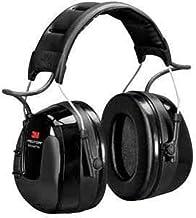 3M Peltor Worktunes Pro Earmuff Electronic Headphone Digital AM/FM Radio Hi-Fidelity Stereo Audio LCD Display Headset Blac...