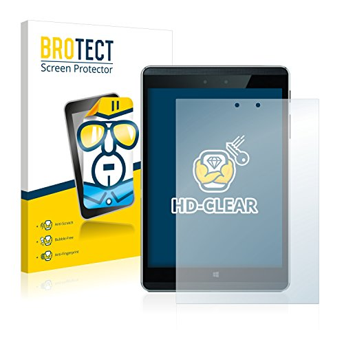 BROTECT Schutzfolie kompatibel mit HP Pro Tablet 608 G1 (2 Stück) klare Bildschirmschutz-Folie
