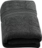 Utopia Towels 700 GSM Extra Large Bath Towel (35 x 70 Inches) - Luxury Bath Sheet, Grey