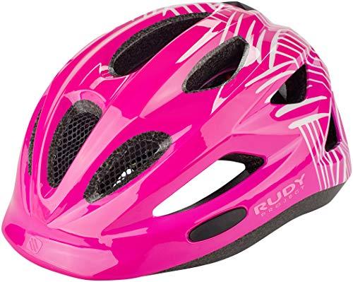 Rudy Project Rocky Helmet Kinder Purple-White Shiny 2020 Fahrradhelm