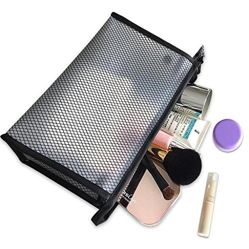 Benfa Maquillage Sac Pouch Voyage Admission Lavage Étanche De Stockage Cosmétique Garçons Et Filles Sacs De Lavage, Black