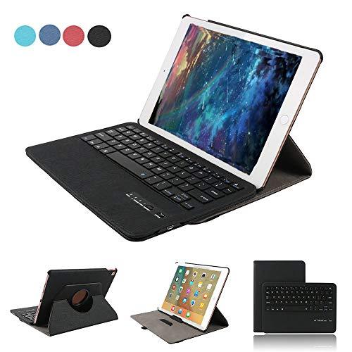 cover con tastiera tablet 10.1 Dingrich Tab A 10.1 Tastiera Bluetooth Custodia in Pelle PU Custodia con Supporto per Samsung Galaxy Tab A 10.1 2016 (t580/t585) - Pellicola Proteggi + Penna Capacitiva