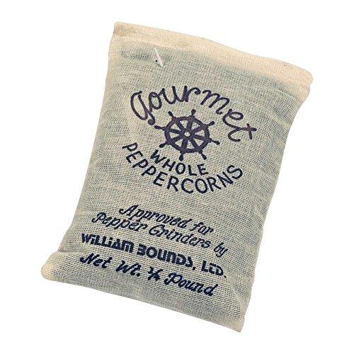 William Bounds 1/4-Pound Bag of Black Peppercorns