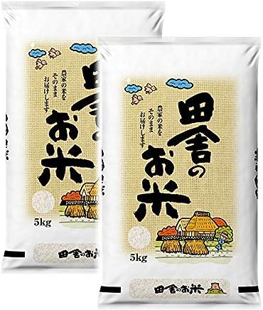 【精米】 白米 ブレンド米 田舎のお米 10㎏ (5㎏×2袋)