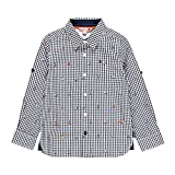 Boboli Santorini - Camicia da ragazzo Blu 122 cm