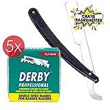 Derby Professional Rasierklingen Berber Barber 500 Stück einseitige Rasierklingen inklusive GRATIS...