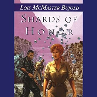 Shards of Honor audiobook cover art