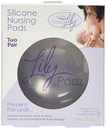 LilyPadz® Reusable Silicone Nursing Pads Double Pair Regular Size