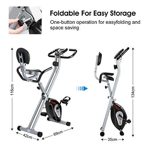ENKEEO Heimtrainer Klappbar Fitnessbike Bild 2*