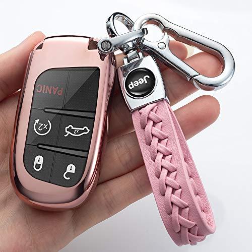 Zelux 1pc Car Dark Silver Fob Key Chain Heavy Duty Keychain Car SUV Truck Motorsport Racing Hello Cute Cat Kitty Gift Women Girl Fashion Souvenirs Kitty Cat