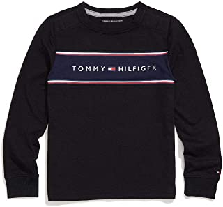Boys' Adaptive Long Sleeve T Shirt with Touch Fastener Closure