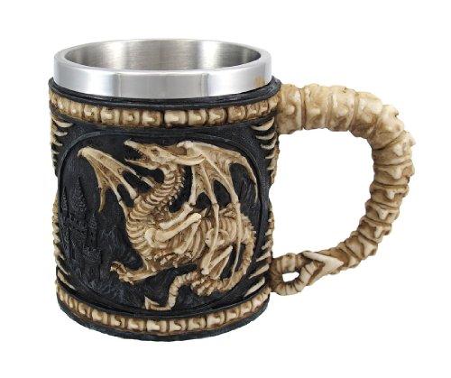 Skeleton Dragon Mug New