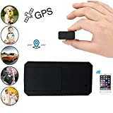 Hangang Mini GPS Tracker anti Thief Mini en tiempo real GPS Tracker GPS portátil Tracking anti Loss localizador GPS para bolsa bolso Wallet Bags Kids Satchels documentos