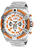 Invicta Men's Star Wars Quartz Watch with Stainless-Steel Strap, Silver, 26 (Model: 27226)