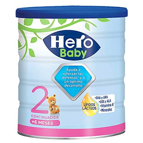 Hero Baby - Leche Hbb Nutrasense, 6 a 12 meses, 800 g, paquete de 2