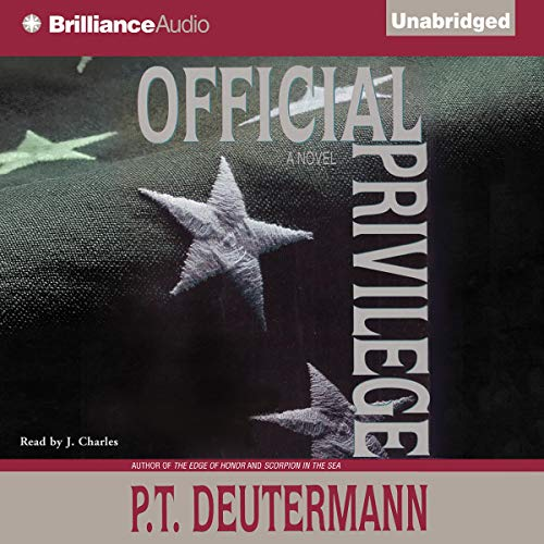 Official Privilege audiobook cover art