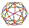 """4E's Novelty Expandable Breathing Ball Toy Sphere for Kids Stress Reliever Fidget Toys Colors May Vary for Yoga Anxiety Relaxation Expands from 5.6"""" to 12"""" by 4E's Novelty"""