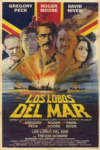 Preisvergleich Produktbild The Sea Wolves Movie Poster (27, 94 x 43, 18 cm)