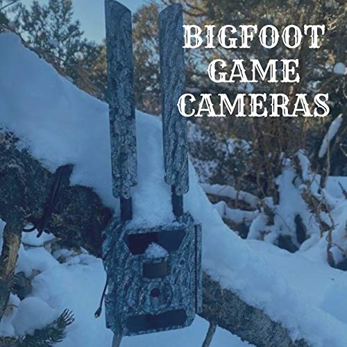 4G LTE Bigfoot Hunting Camera - Affordable Data Plan & Easy Setup - Trail Camera- Get a Picture to Any Phone or Email