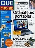 QUE CHOISIR [No 448] du 01/05/2007 - DEODORANTS / FAUT-IL CRAINDRE LES SELS D'ALUMINIM -ORDINATEURS PORTABLES -GESTION DE L'EAU...
