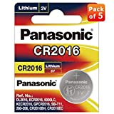 Panasonic CR 2016-5BE Lithium Coin Battery - Pack of 5 tds meters Dec, 2020