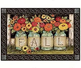 Fall Mason Jars MatMats Doormat #10112