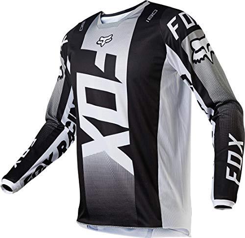 Fox 180 OKTIV Jersey schwarz/weiß XL